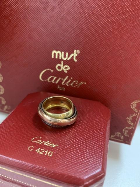 Cartier カルティエ 18k トリニティ 3連 リング 3カラー