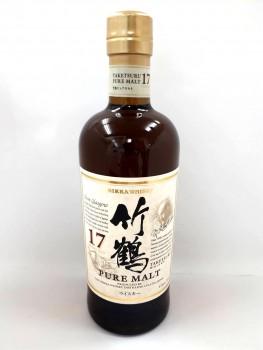 ニッカウヰスキー 竹鶴 17年 ピュアモルト ウイスキー 700ml 43度